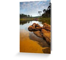 A Still Morning on Lake Tamboon Greeting Card
