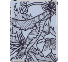 Blue Sprigs iPad Case/Skin