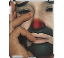 The Sad Clown iPad Case/Skin
