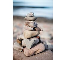 Love Stack Photographic Print