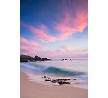The Shore Break at Salmon Rocks Photographic Print