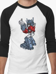 TRANSFORMERS: Optimus Men's Baseball ¾ T-Shirt