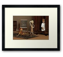 Bad Dolls Framed Print