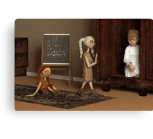 Bad Dolls Canvas Print