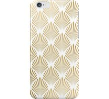 art deco gold pattern iPhone Case/Skin