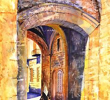 City gate (Jerusalem) by bettymmwong