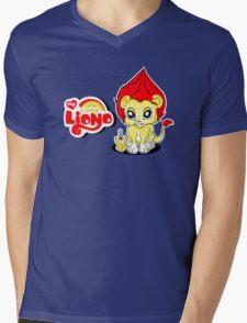 My Little Liono Mens V-Neck T-Shirt