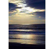 Carmel Beach Sunset  Photographic Print