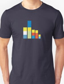 Simpsons on the Block Unisex T-Shirt