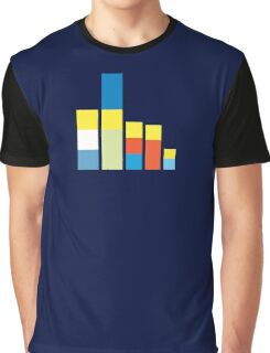 Simpsons on the Block Graphic T-Shirt
