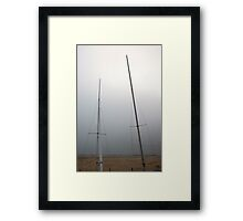 Third Trio Fog Framed Print