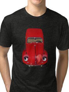 ㋡  CAR VOLKS WAGON BUG TEE SHIRT (GLAMOUR BUG)㋡ Tri-blend T-Shirt