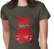 ㋡  CAR VOLKS WAGON BUG TEE SHIRT (GLAMOUR BUG)㋡ Womens Fitted T-Shirt
