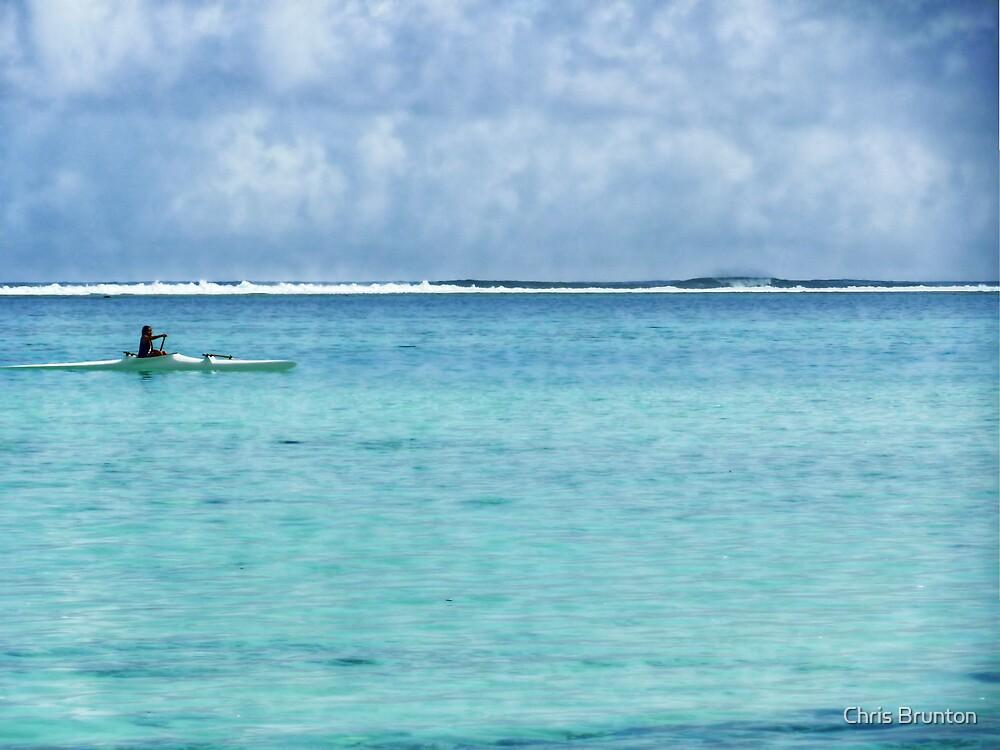 Lone traveller by Chris Brunton