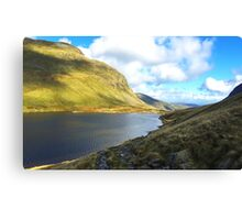 Grisedale Tarn in the Lake District National Park, UK Canvas Print