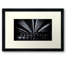 Under the Narrows Framed Print