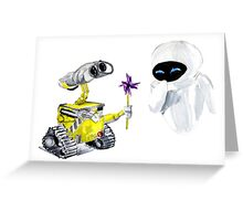 Pin Wheel Greeting Card