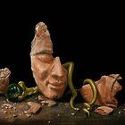 Head of a Painter by Jósean Figueroa