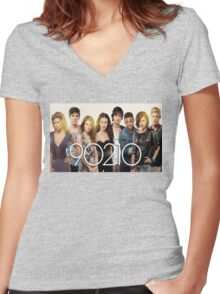 90210-new cast Women's Fitted V-Neck T-Shirt