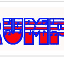 Trumpet Red White & Blue I Sticker
