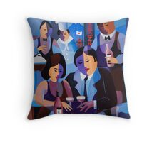 THE LAST DINERS, JAPAN Throw Pillow