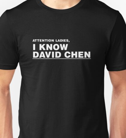 David Chen Unisex T-Shirt