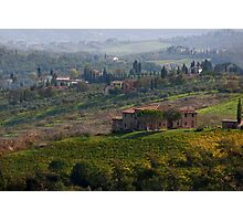 Rolling Tuscany Photographic Print