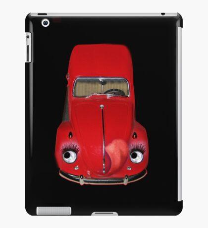 ㋡  CAR VOLKS WAGON BUG IPAD CASE #2 (GLAMOUR BUG)㋡ iPad Case/Skin