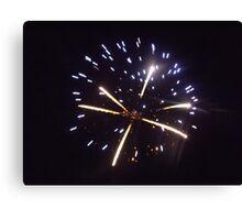 Firework Canvas Print
