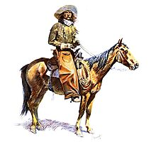 Arizona Cowboy Photographic Print