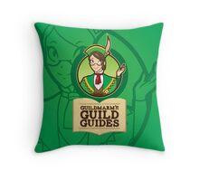 Guildmarm's Guild Guides! Throw Pillow