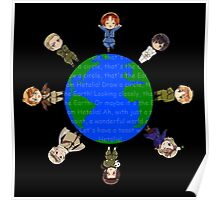 Hetalia Axis Powers shirt - Most Popular T shirt! Hoodies now available! (aph draw a circle shirts, axis powers) shirt / hoodie / hoody and posters avail. too! Poster