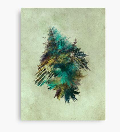 Tree - Fractal Art Canvas Print