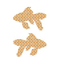 School of Goldfish Pattern by RedPine
