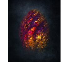 Dragon Egg Fractal Art Photographic Print