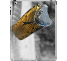 Select colouring2 Black and Yellow Tiger snake iPad Case/Skin