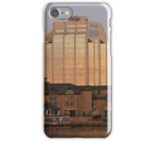 Port city morning iPhone Case/Skin