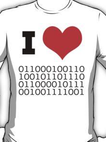 I Heart Binary T-Shirt