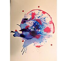 Abstract Ink Painting Photographic Print