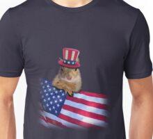 Patriotic Squirrel Unisex T-Shirt