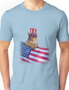 Patriotic Squirrel Unisex T-Shirt