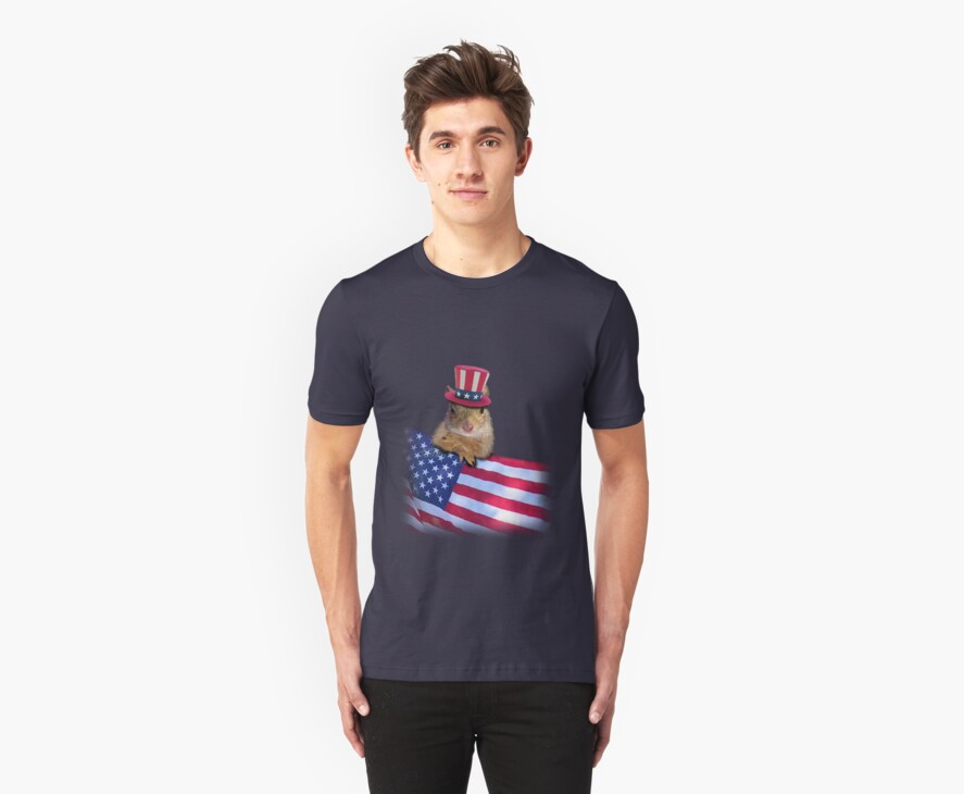Patriotic Squirrel by jkartlife