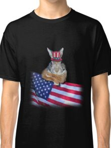 Patriotic Bunny Rabbit Classic T-Shirt