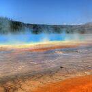 Grand Prismatic Springs by JamesA1
