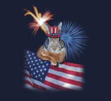 Patriotic Bunny Rabbit by jkartlife
