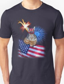 Patriotic Bunny Rabbit T-Shirt