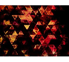 triangle inspiration Photographic Print