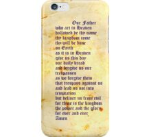 The Lord's Prayer iphone case iPhone Case/Skin