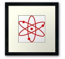 Big Bang Atom Framed Print