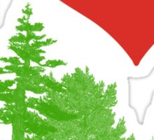 I Heart Pine Trees / Forest / Nature Sticker